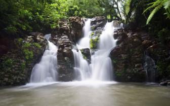 Fijian waterfall