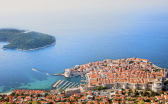 Ariel view of Dubrovnik