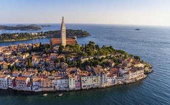 Aerial view of Istria