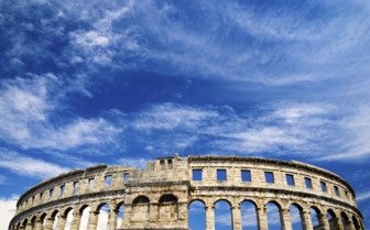 The Pula Arena in Croatia