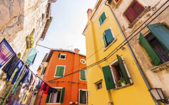 Colourful houses of Istria