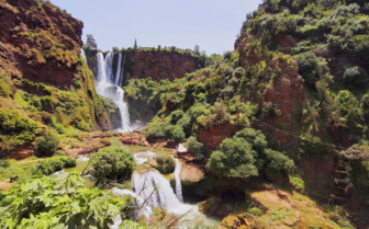 Ouzoud waterfall in Morocco