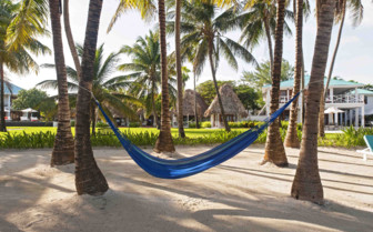 Hammocks on the beach, Ambergris Caye