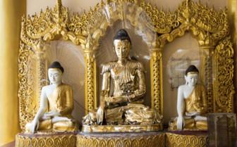 Buddha in Shwadagon