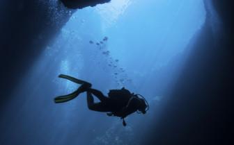 Underwater in Gozo