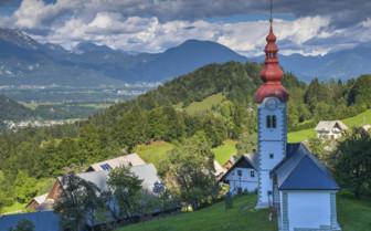 Old church Triglav