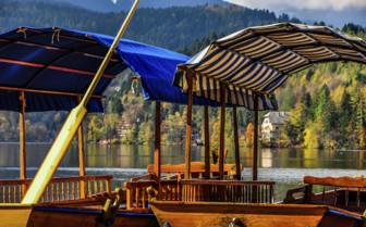 Plentas on Lake Bled