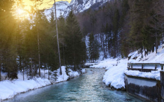 River through Julian Alps