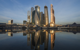 Business centre in Moscow