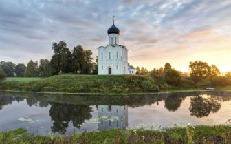 Nerl River church in Russia