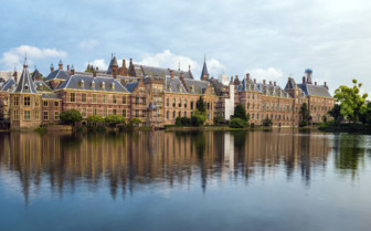 Binnenhof Palace in The Hague