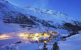 Tyrolean Alps village