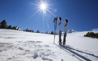 Skis and sunshine
