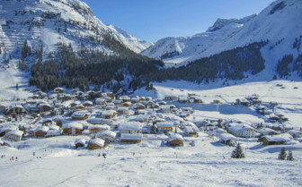 Lech mountain village