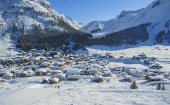Lech mountain village