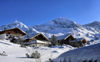 Kitzbuhel chalets in Austria