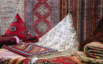 Persian carpets in Iran