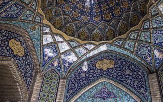 Tehran main bazaar ceiling