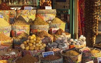 Aswan bazaar
