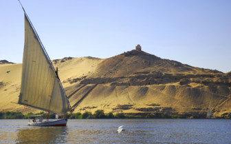 Boat on the River Nile