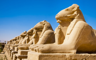 Statues in Egypt