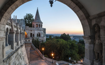 South gate of fishermans bastion