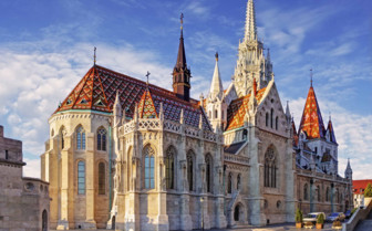 Budapest Mathias Church at day