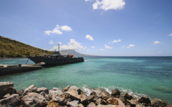 St Kitts cargo ferry