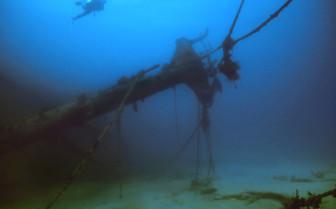 BVI shipwreck