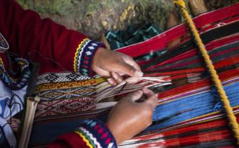 Peru weaving