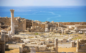 Ruins of Ancient Kourion Cyprus