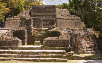 Temple of the Mask Lamanai Belize
