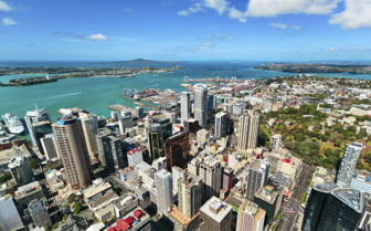 Auckland from the Sky