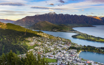 Queenstown Ariel Shot