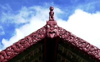 Maori Church Tikitiki in the Northland