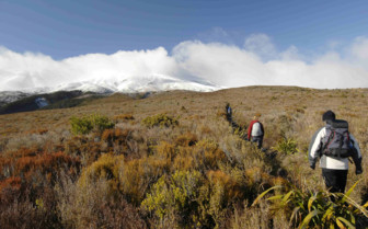Hiking Through the Tongariro Crossing