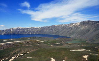 Turkish Landscape with Lake