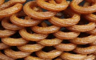 Stack of Pretzel's in Turkey