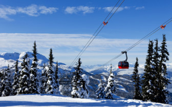 Whistler Ski Cable Car