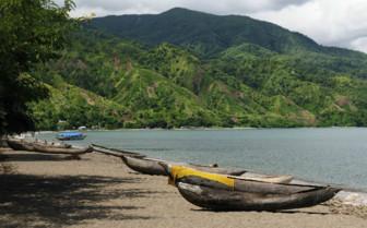 Malawi Lake Beach Boats