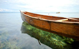 Wooden Boat on Lake Malawi