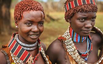 Tribal Ethiopian Women