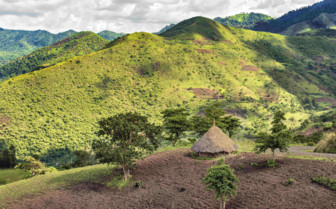 Landscape of Southern Ethiopia