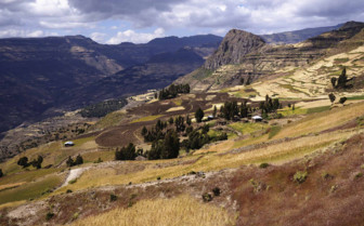 North Simien Highlands in Ethiopia