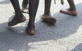 Feet in Papua