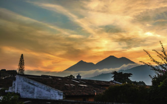 Guatemala Sunset