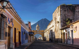 St Catraina Arc in Antigua