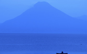 Fisherman on Lake Attitlan