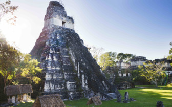 Tikal National Park at Sunrise
