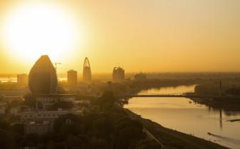Sunset over Khartoum
